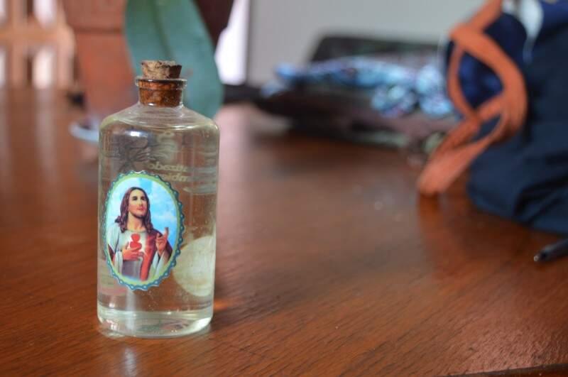 Produtos aromatizados de Patrícia (Foto: Naiane Mesquita)