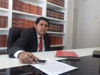 Pastor Jairo havia negado extorsões e diz que apenas denunciou o caso ao Gaeco (Foto: Mayara Bueno)