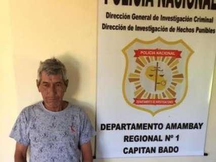 Foragido por matar e enterrar corpo de jovem é preso na fronteira