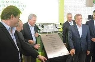 Foi inaugurado hoje em Santos, o terminal da Eldorado Brasil. (Foto: Assessoria/Divulgação)