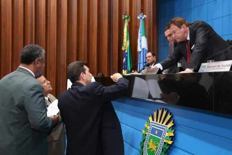 Deputados vão avaliar projeto em duas votações na Assembleia (Foto: Assessoria/ALMS)