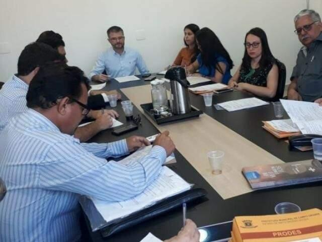 Reunião dos conselheiros do Codecon no início do mês (Foto: Divulgação)