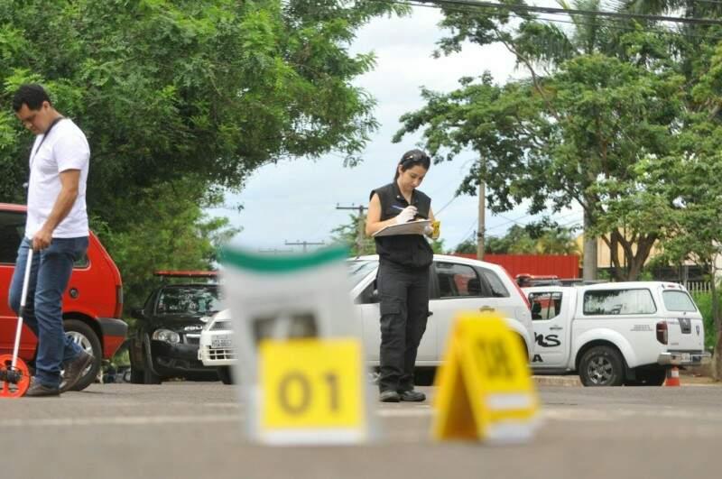 Perícia quer confirmar laudos produzidos no dia do crime e confrontar depoimentos (Foto: Alcides Neto)