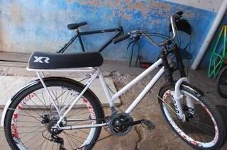 Bicicleta avaliada em R$800.00, por Rafael.