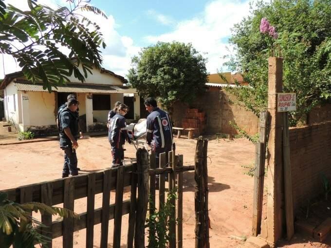 Jovem estava escondido em casa no Jardim Alvorada em Três Lagoas (Foto: Rádio Caçula)