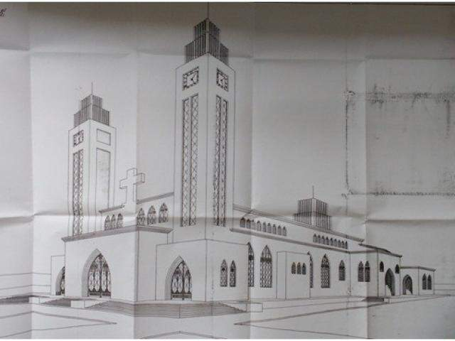 Ainda sobre os desenhos de arquitetura do passado...