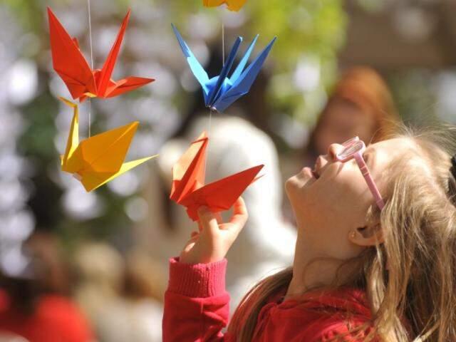 Os pássaros significam prosperidade, saúde e paz. (Foto: Alcides Neto)