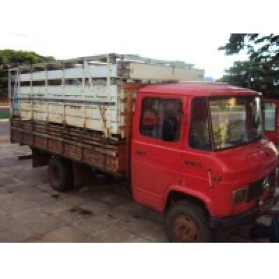 Caminhão foi apreendido pelo DOF em Coronel Sapucaia.