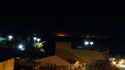 Com clima quente e seco, queimadas se espalham por Corumbá