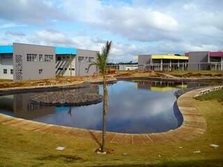 Ao todo foram investidos aproximadamente R$ 47 milhões na obra do campus da UEMS Capital. (Foto: Divulgação)