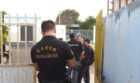 Policiais ainda vistoriaram casas na Capital. Foto: Divulgação PC
