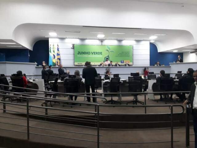 Segundo o Regimento Interno da Câmara Municipal, a comissão tem 15 dias para para apreciar essa proposta (Foto: Fernanda Palheta)
