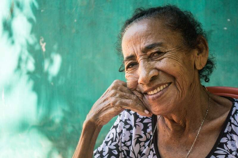O retrato de um sorriso cheio de encanto, no Ceará. (Foto: Evandro Sudre)