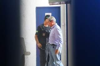 André Puccinelli deixa prisão em 15 de novembro do ano passado. (Foto: André Bittar/Arquivo)