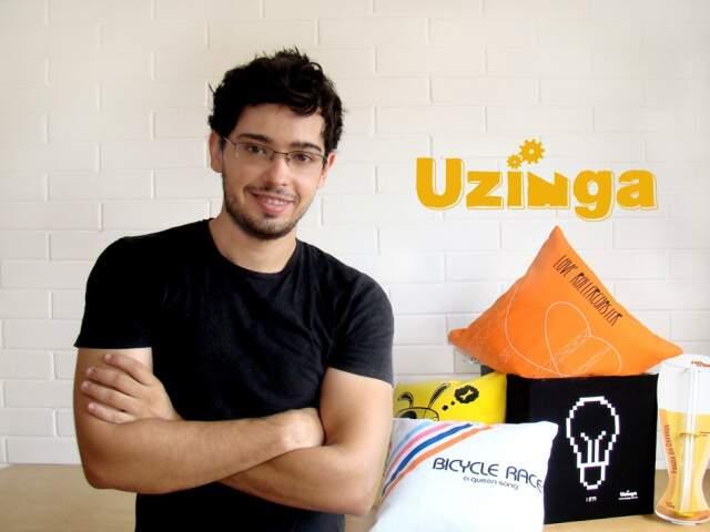 Fernando Rodrigues, um dos sócios da Uzínga.
