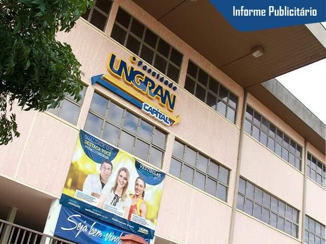 Para saber mais sobre cursos, vestibular ou outras formas de ingresso na Unigran Capital, ligue 3389-3389 - Foto Divulgação
