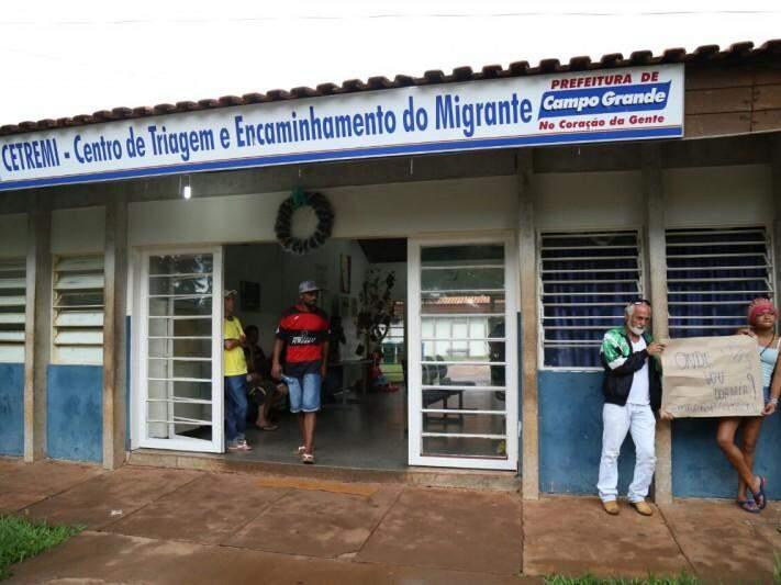 Cetremi, que abriga moradores de rua, foi fechado no sábado (17) (Foto: Marcos Ermínio/Arquivo)