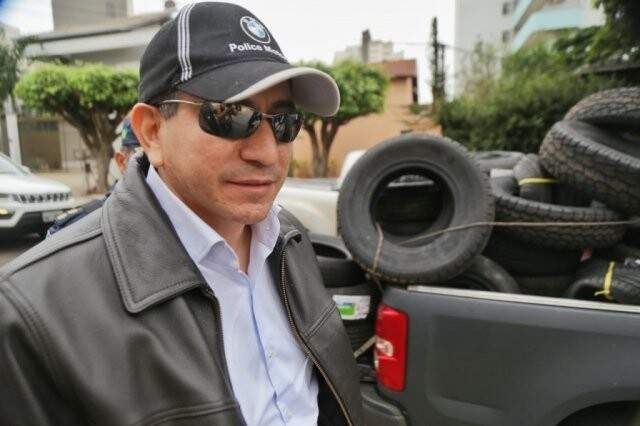 Tenente-coronel Admilson Cristaldo foi preso em maio durante a Operação Oiketicus. (Foto: Fernando Antunes/Arquivo)