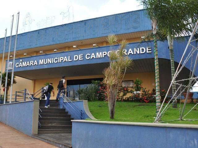 Câmara Municipal de Campo Grande. (Foto: Arquivo)