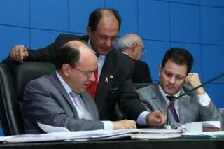 Deputados devem votar projetos em segunda votação na Assembleia (Foto: Victor Chileno/ALMS)