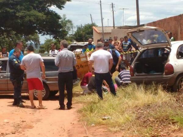 Nicodemos foi perseguido e morto no bairro Nova Lima, na manhã do dia 27 de dezembro. (Foto: Rafael Ribeiro)