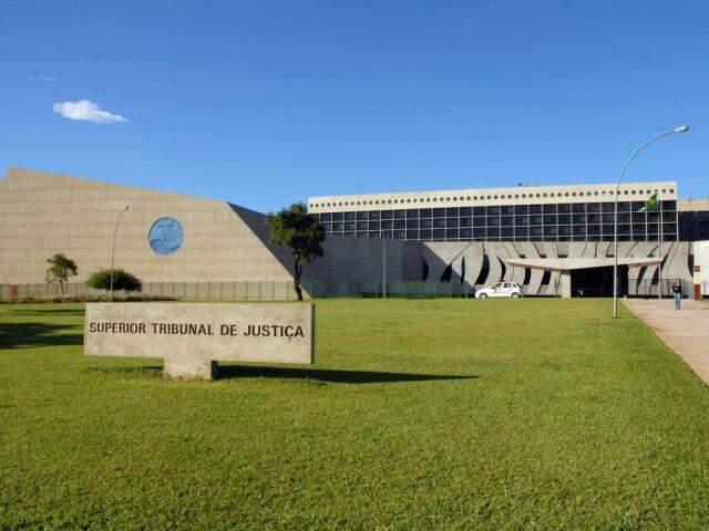 Fachada do STJ (Superior Tribunal de Justiça). (Foto: Reprodução)