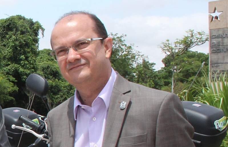Secretário Barbosa quer ampliação na ajuda dos militares nos presídios de MS (Foto: Edemir Rodrigues/Sejusp)