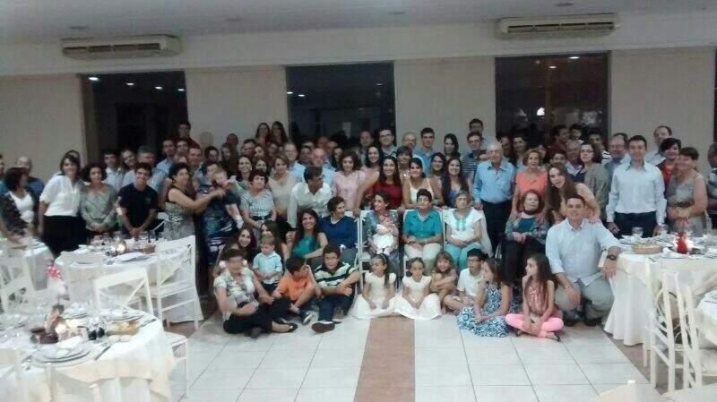 Família Oliveira reunida no Natal deste ano