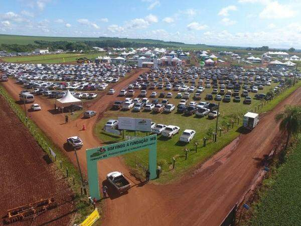 Público compareceu em peso à Maracaju para acompanhar a primeira feira agropecuária do ano (Foto: Divulgação)