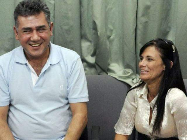 Jarvis Pavão com sua advogada no Paraguai, Laura Casuso (Foto: ABC Color)