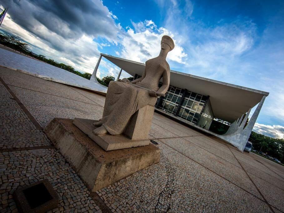 Sede do STF em Brasília (DF), que decidirá futuro de Puccinelli (Foto: Dorivan Marinho/STF/Divulgação)