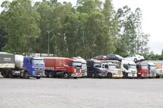 Resolução do Contran é voltada à motoristas profissionais, principalmente a caminhoneiros (Foto: Cleber Gellio)