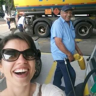 E no caminho para devolver o carro, deixei o João sem gasolina em plena Afonso Pena.