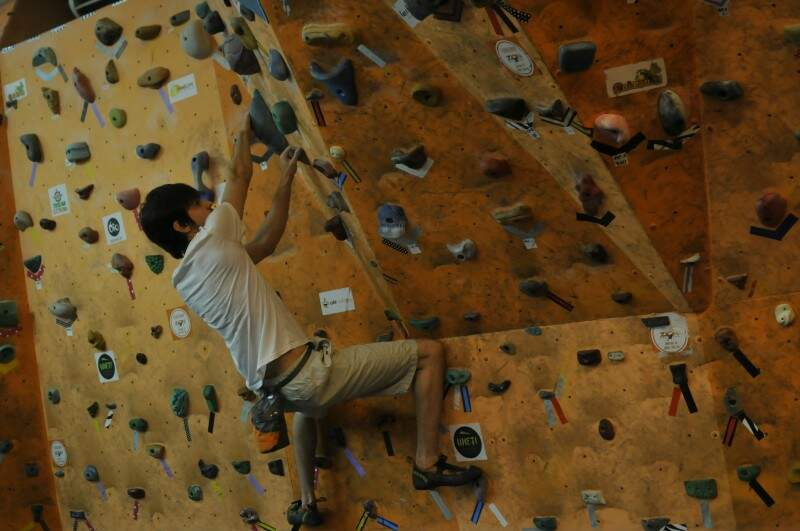 No ranking de esportes mais completos, o boulder está na quinta colocação.  (Foto: Alcides Neto)