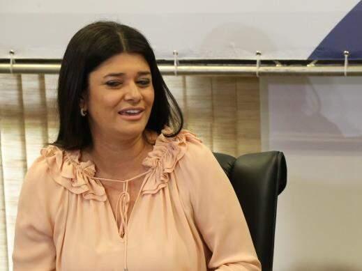 Governadora em exercício, Rose Modesto (PSDB). (Foto: Marcos Ermínio/Arquivo)