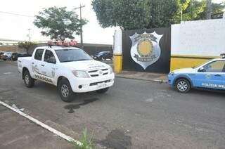 Perícia já viu imagens das câmeras de segurança que revelou como foi a ação (Foto: Marcelo Calazans)