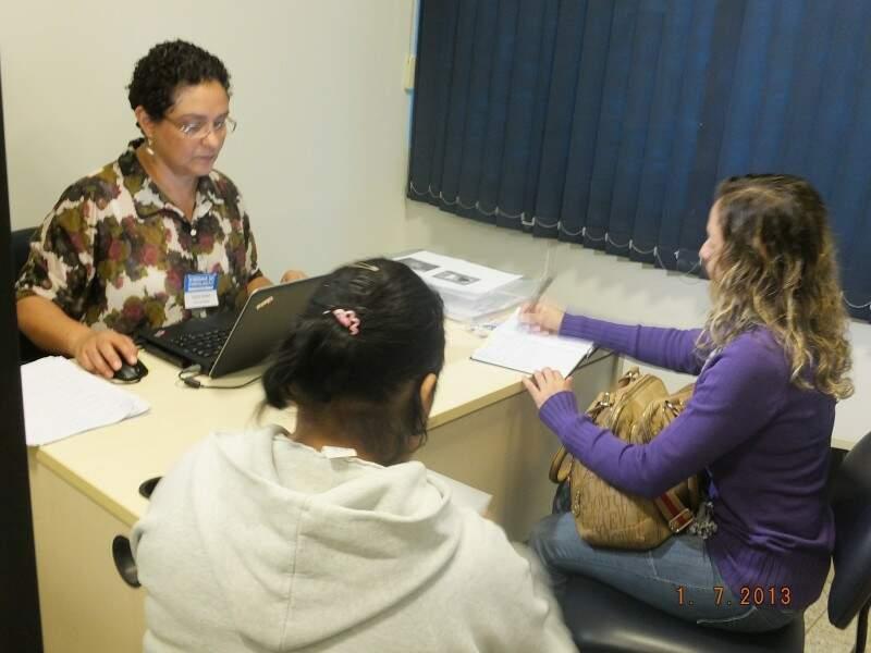 Para atendimento, é necessário levar documentos pessoais e comprovante de residência. (Foto:Divulgação)