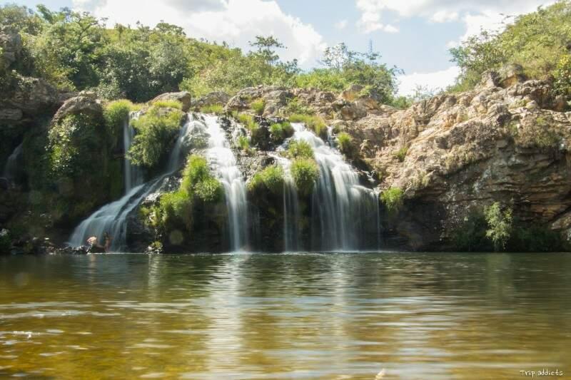 Cachoeira do Filó, com acesso gratuito a visitantes. (Foto: Trip Adiccts)