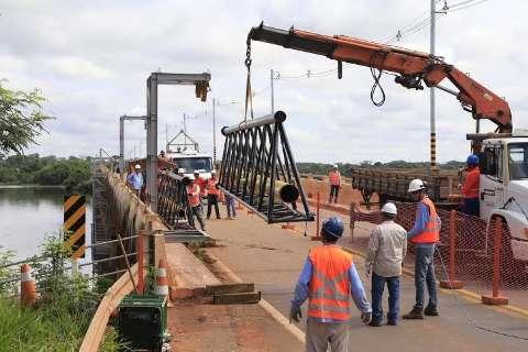 MSGÁS inicia obra em ponte para levar gás natural até a Eldorado