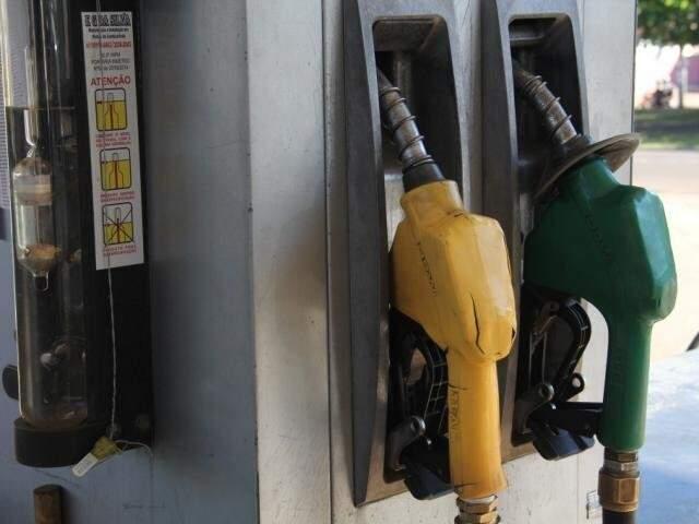 Bombas de combustível em posto da Capital (Foto: Arquivo)