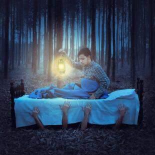 Sonhador, estudante usa criatividade para criar fotografias surrealistas