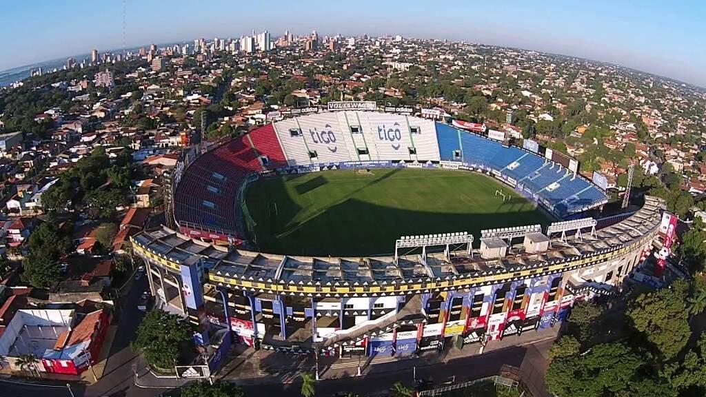 Uma construção de 1916 o Estádio Defensores del Chaco é uma das atrações em Assunção