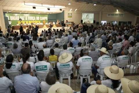Leilão da Resistência reúne mais de mil pessoas, entre elas políticos federais