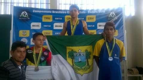 Luta Olímpica de MS volta do Rio Grande do Norte com duas medalhas de prata