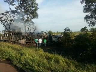 Acidente destruiu totalmente veículos e mobilizou perícia até hoje (Foto: Arquivo)