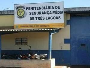 Tentativa de fuga  ocorreu na penitenciária de Segurança Média de Três Lagoas. (Foto: Arquivo)
