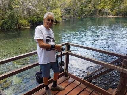 """Gabeira visita Rio da Prata e faz alerta para que """"paraíso continue de pé"""""""