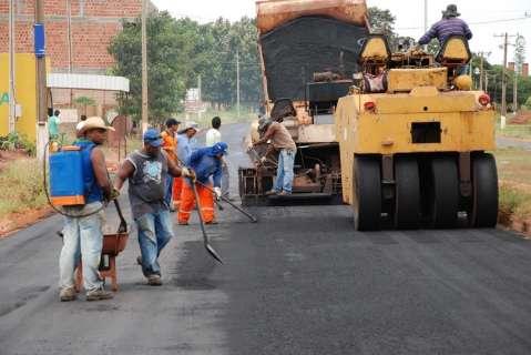 Prefeitura conclui licitação para asfalto em três ruas no Jardim Paraíso