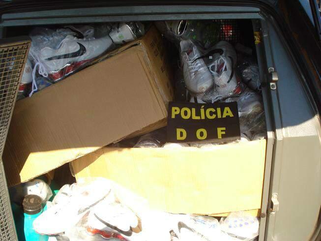 O homem levaria a mercadoria até a cidade de Umuarama (PR), onde mora. (Foto: divulgação)