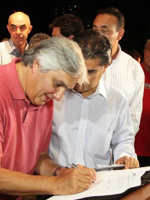 Reforma do Mercadão conta com recursos viabilizados por meio de emenda parlamentar do senador Delcídio do Amaral. (Foto: Divulgação)